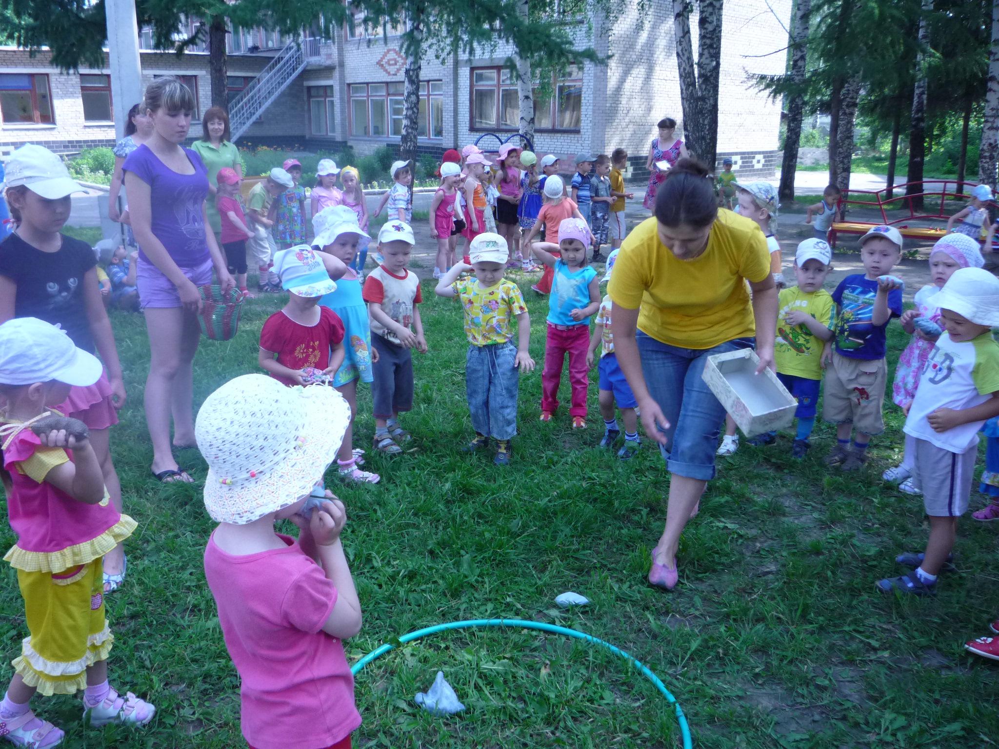 Праздники и развлечения на улице